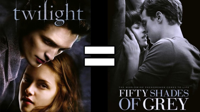 twilight equals fifty shades of grey